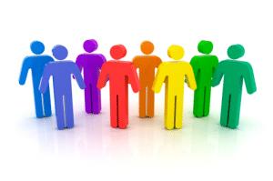 multicolored family