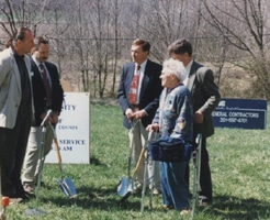 groundbreaking for Unity of Sussex County